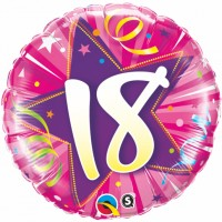 Balloon with Number 18-60